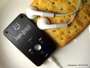 Hippo Biscuit – Audiophilers' Portable Snack