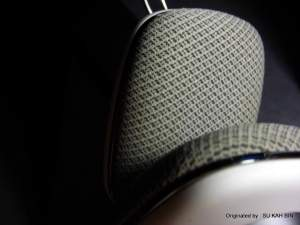 Superb Comfort level by the cushion ear pad that B&W work with those fabricated their speakers clothes.