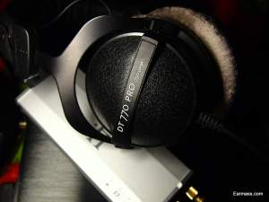 Beyerdynamic DT770 Pro 250 Ohm which I borrowed from audio buddy,Alan.