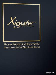 Xsignature Series, printed on packaging box
