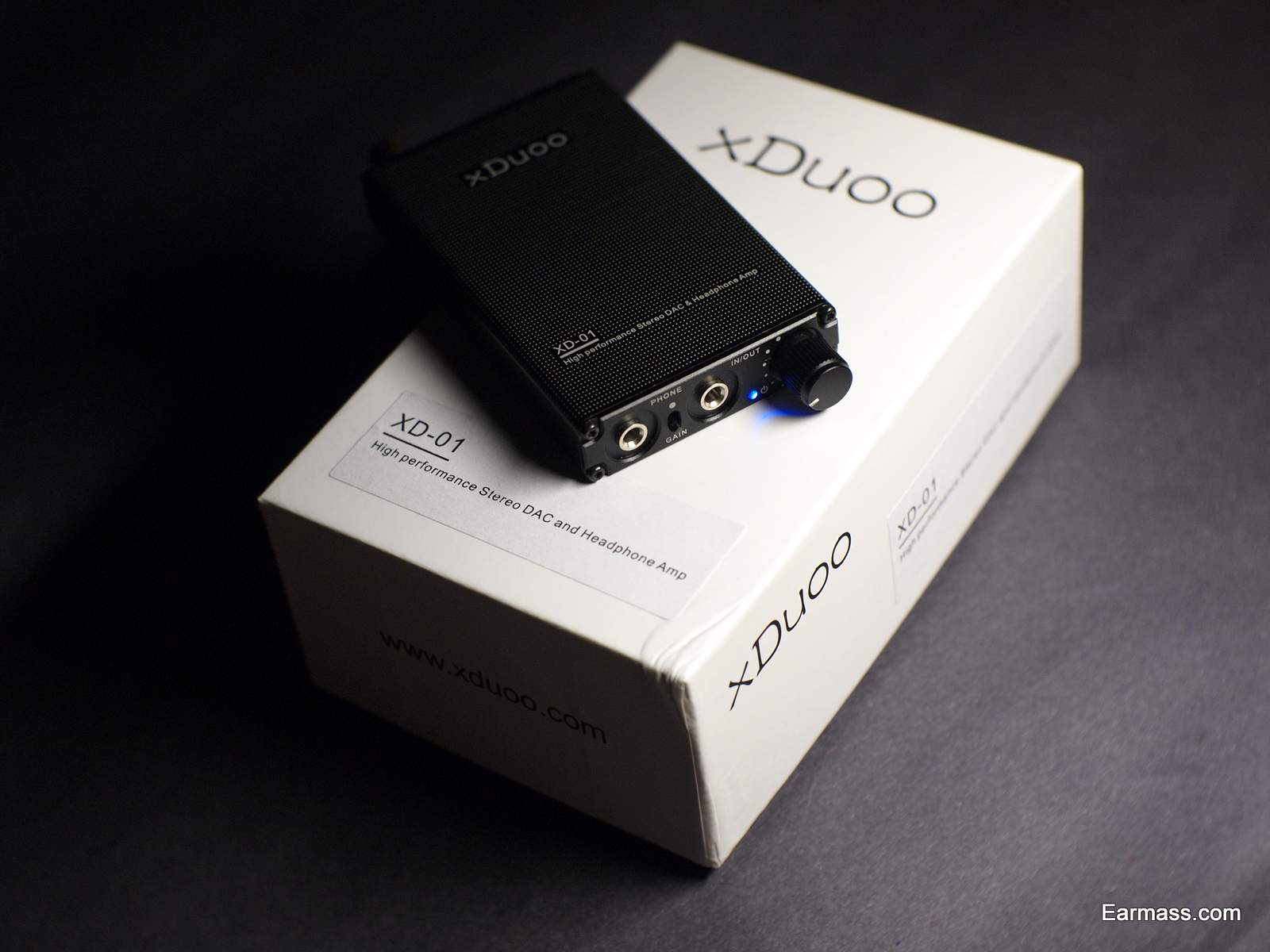 Xduoo Xd 01 A Dac Amp Combo That Lacks Refinement Earmass 05 Portable Packaging Box Is Beautiful And Simple