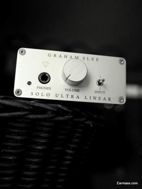 Graham Slee Solo Ultra Linear Diamond Edition : Polite Headphone Amp