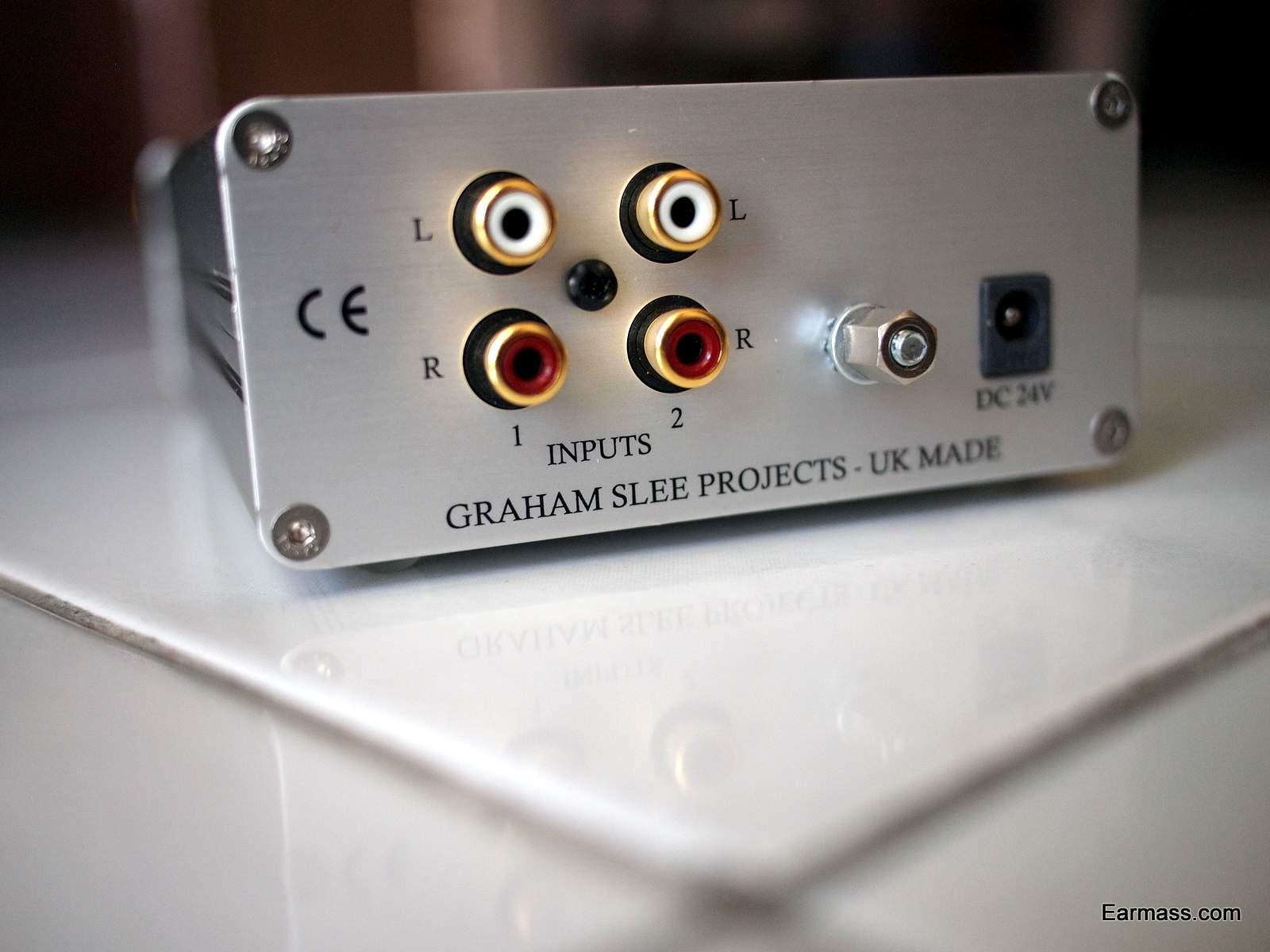 Graham Slee Solo Ultra Linear Diamond Edition : Polite Headphone Amp